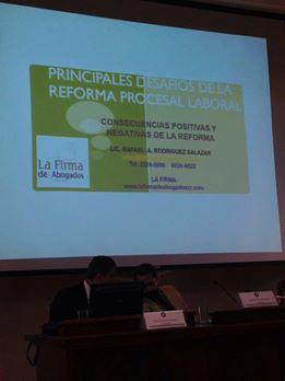 Principales desafíos de la reforma procesal laboral