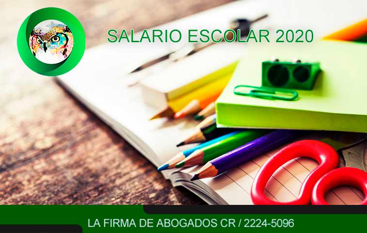 Salario Escolar 2020