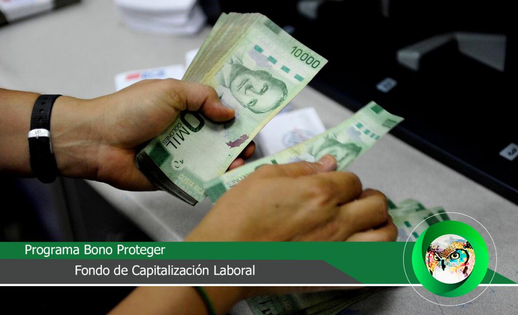 Programa Bono Proteger y Fondo de Capitalización Laboral